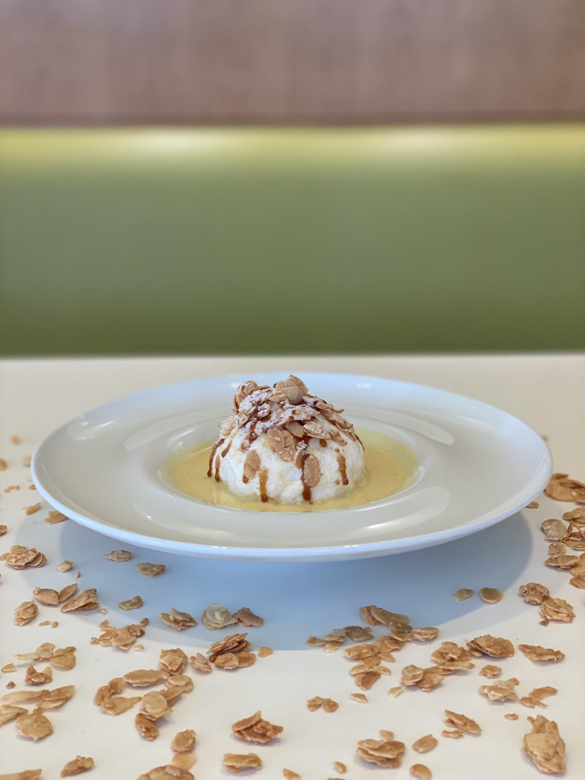 Les dessert à l'assiette
